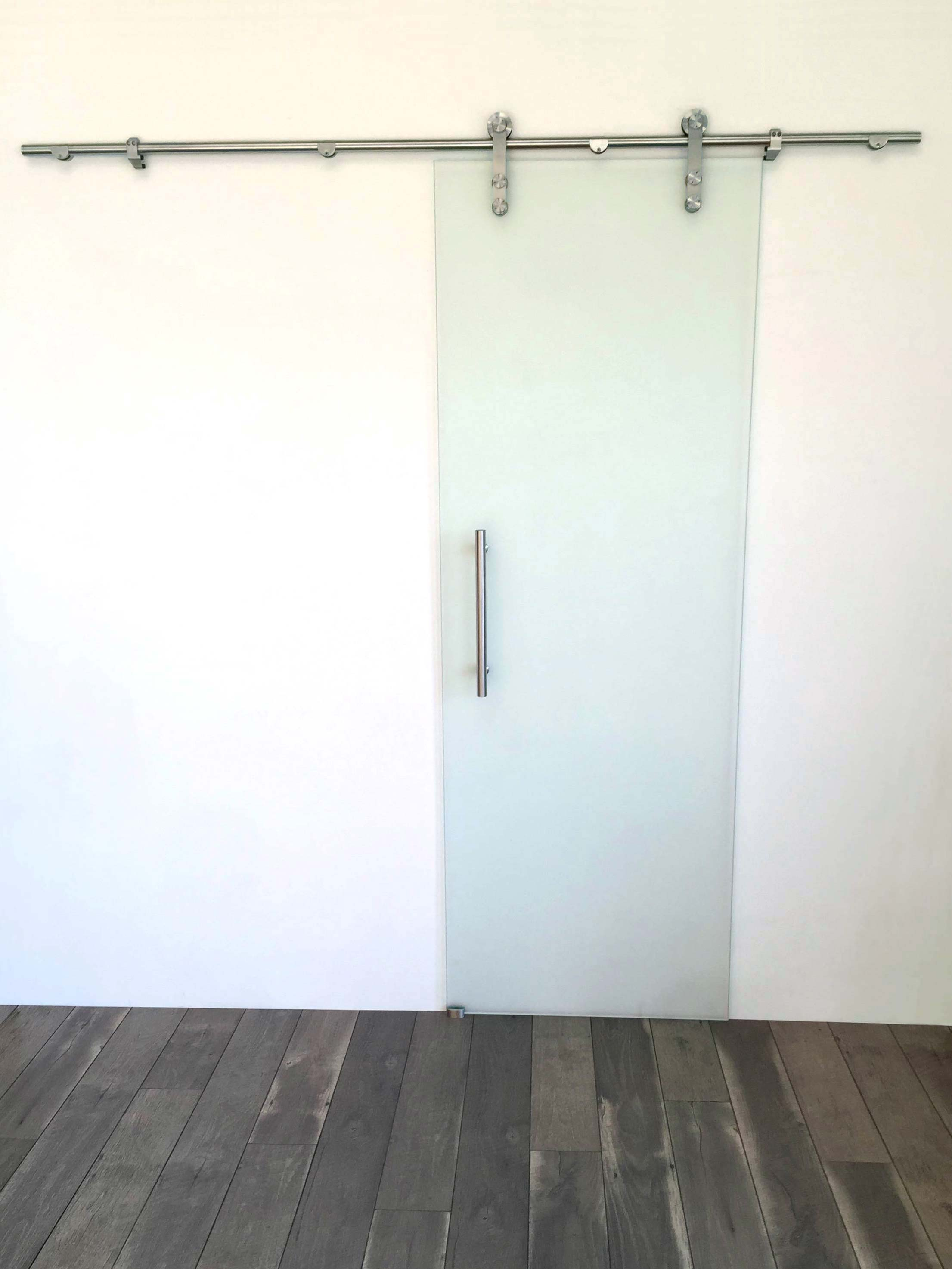 quick view - Frosted Glass Barn Door