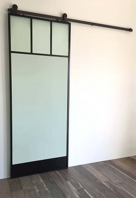 WindowTop Glass Door - Black