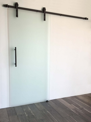 Black Industrial Frameless - Single