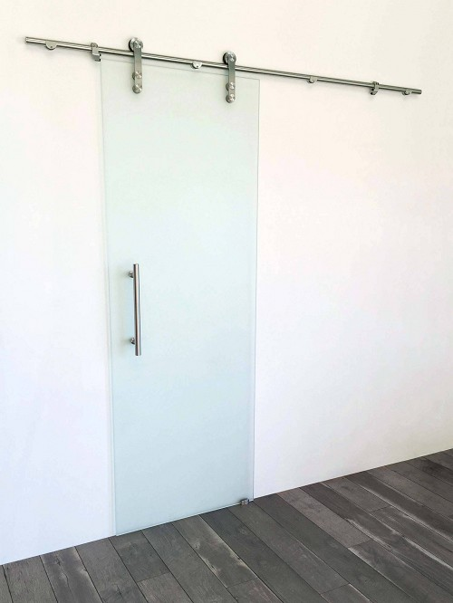 Stainless Steel Frameless - Single