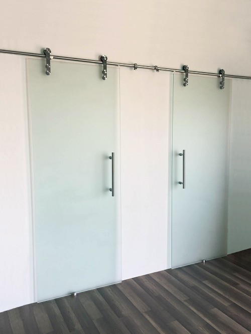 Stainless Steel Frameless - Double